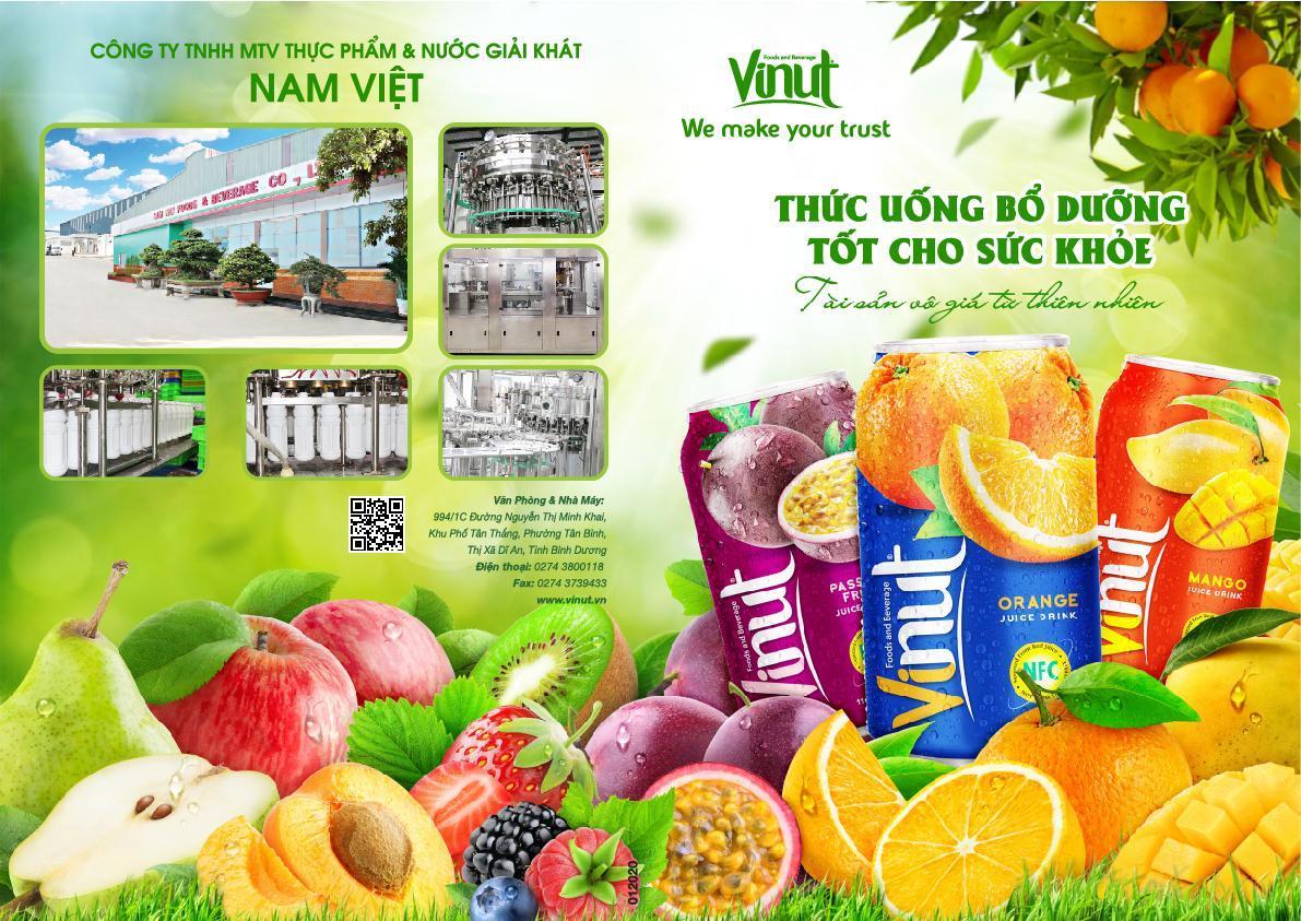 Công ty TNHH MTV Thực Phẩm & Nước Giải Khát Nam Việt