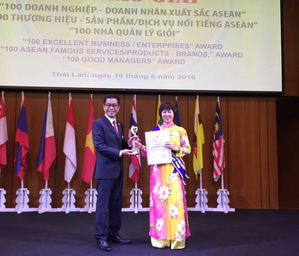 Cơ điện Trần Phú lọt top 100 Thương hiệu nổi tiếng ASEAN