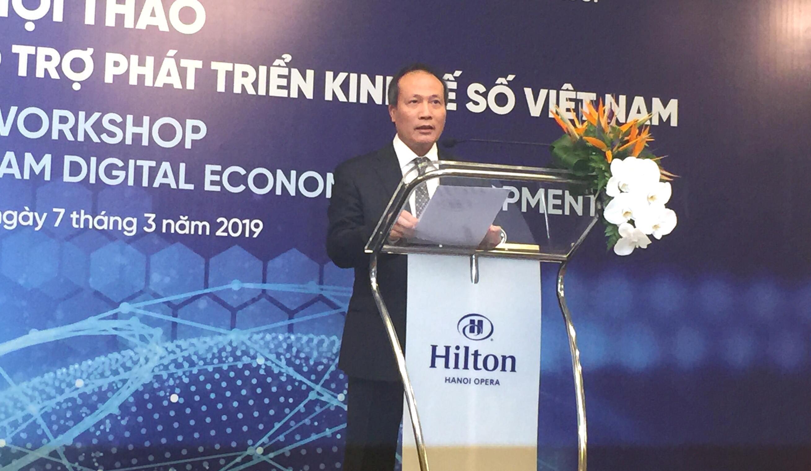 Hội thảo các vấn đề chính sách hỗ trợ phát triển kinh tế số Việt Nam