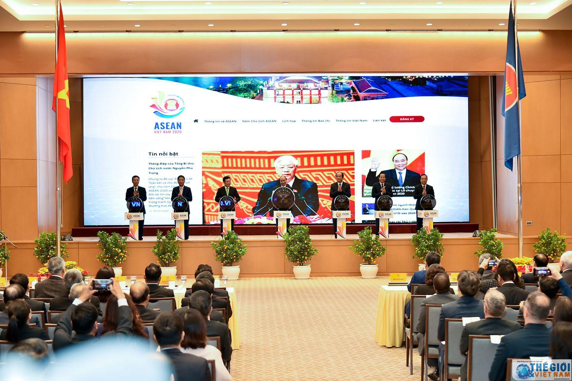 Lễ Khởi động năm Chủ tịch ASEAN 2020